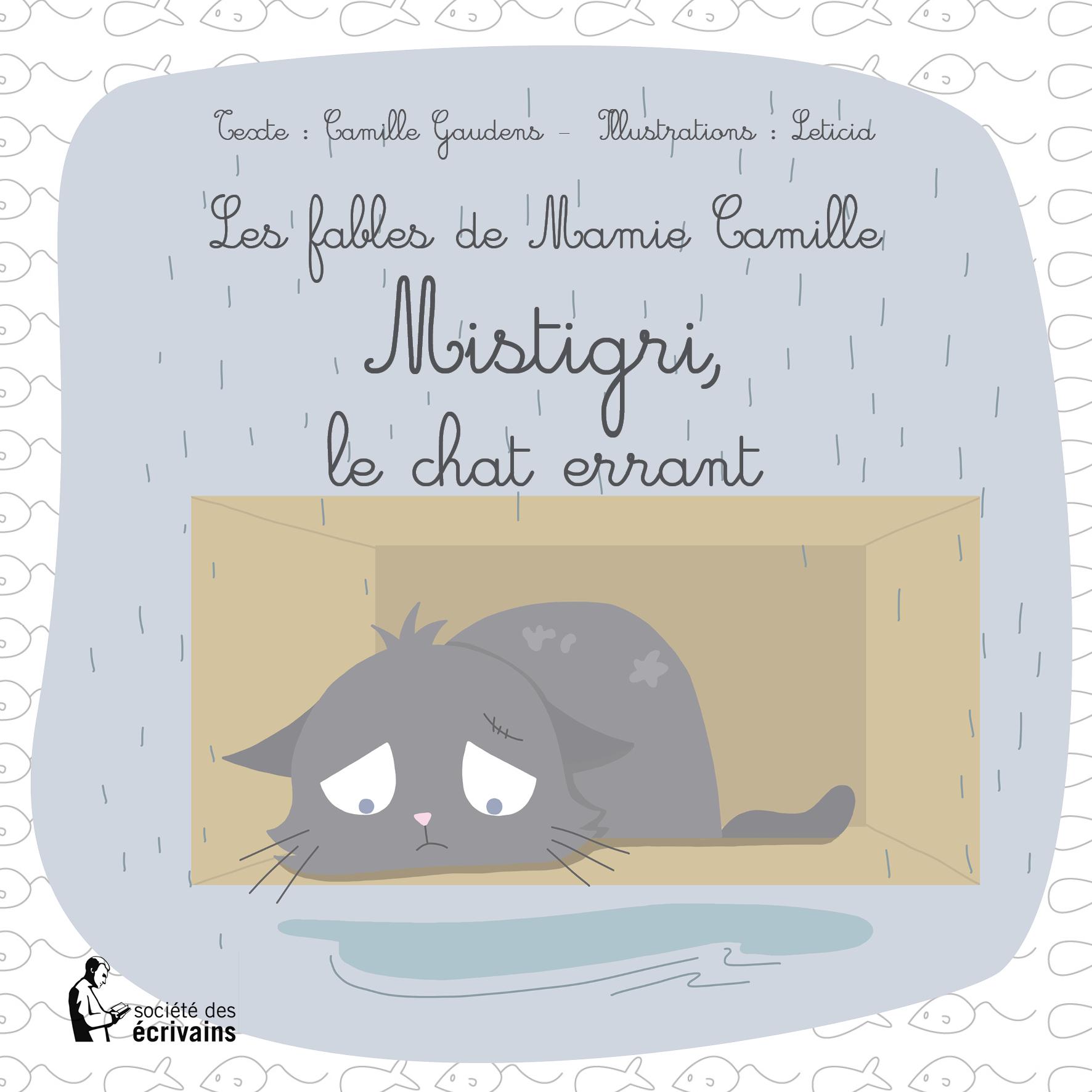 illustration jeunesse, livre jeunesse, livre enfant, mistigri, mistigri le chat errant, chat errant, chat gris, livre chat, livre enfant chat