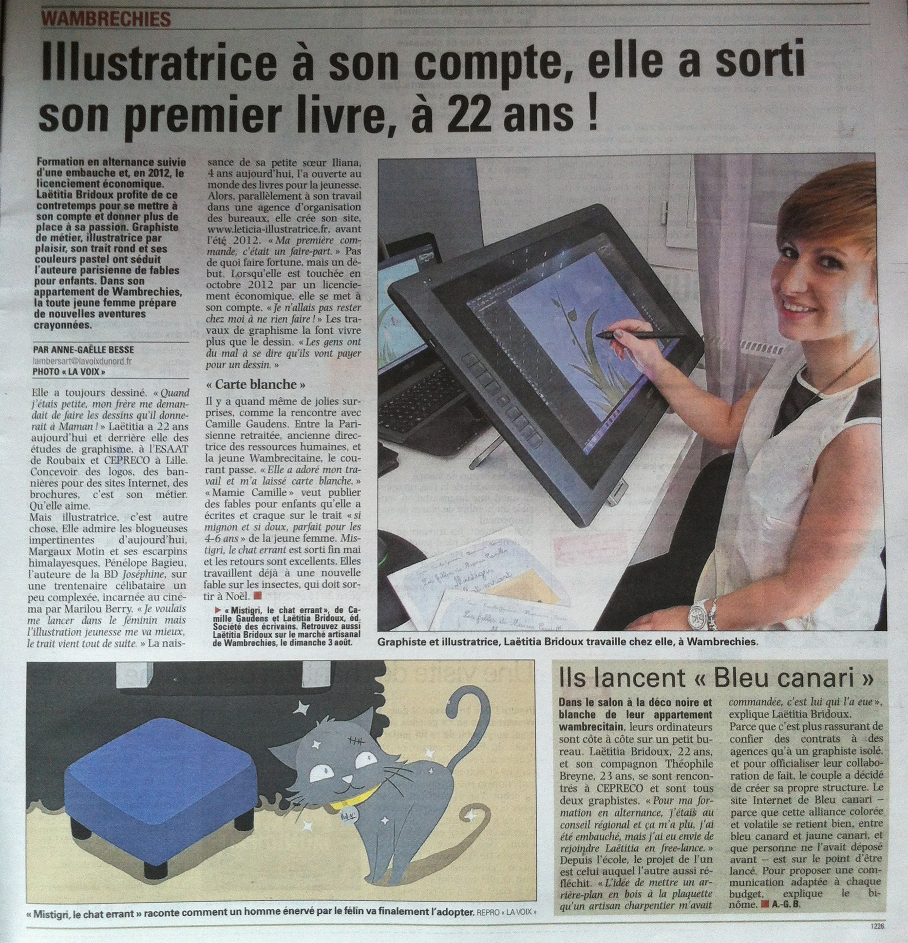 laetitia bridoux, illustratrice freelance, illustratrice lille