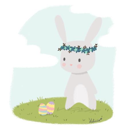 lapin, pâques